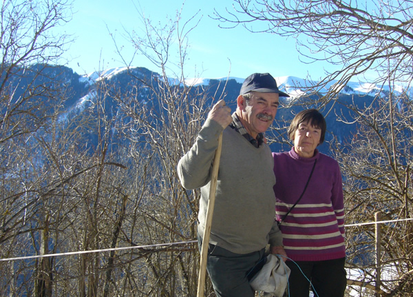 Christine et Robert, éleveurs d'agneaux des Pyrénées, Haute-Garonne