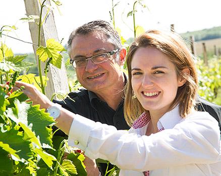 Michel et Aurélie, vignerons, Gers